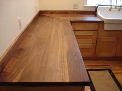 Solid Wood Countertops - Wide Plank and Butcher Block Tops! - SpragueWoodworking.com