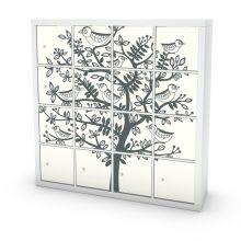Designs for your Ikea furniture | Customize your IKEA furniture | Mykea Expedit samolepky na nábytek IKEA