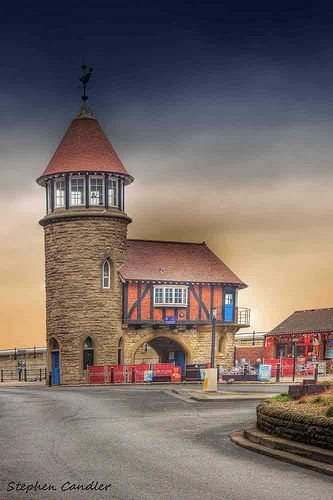 The Old Lighthouse, South Bay,Scarborough, North Yorkshire, England