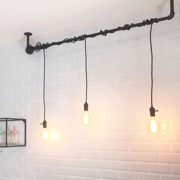 Ampoules Edison Carrelage Metro Cuisine - Shakermaker.fr