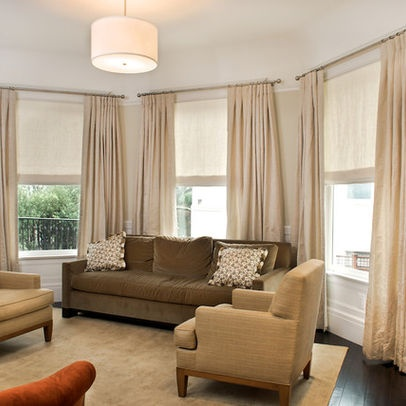 Living Room Window Treatment Design, Pictures, Remodel, Decor And Ideas    Page 2