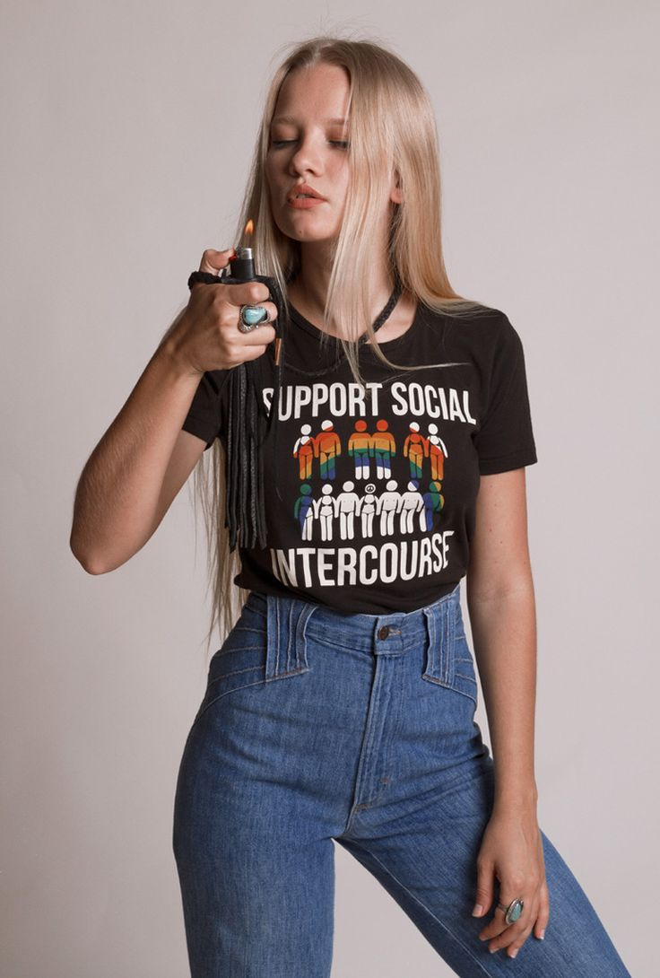 Support Social Intercourse tee.... Make love on the highway, bi-way and always.