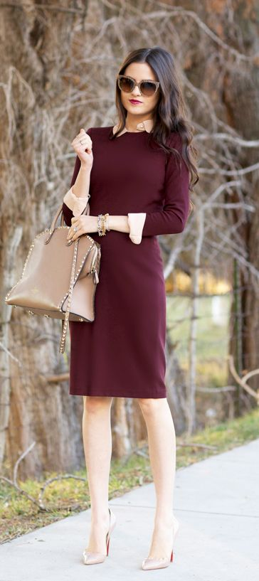 25+ Best Ideas about Sheath Dresses on Pinterest