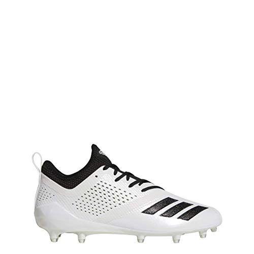 Adidas Adizero 5star 7 0 Cleat Mens Football 11 White Black Football Shoes Adidas Football Cleats Cleats