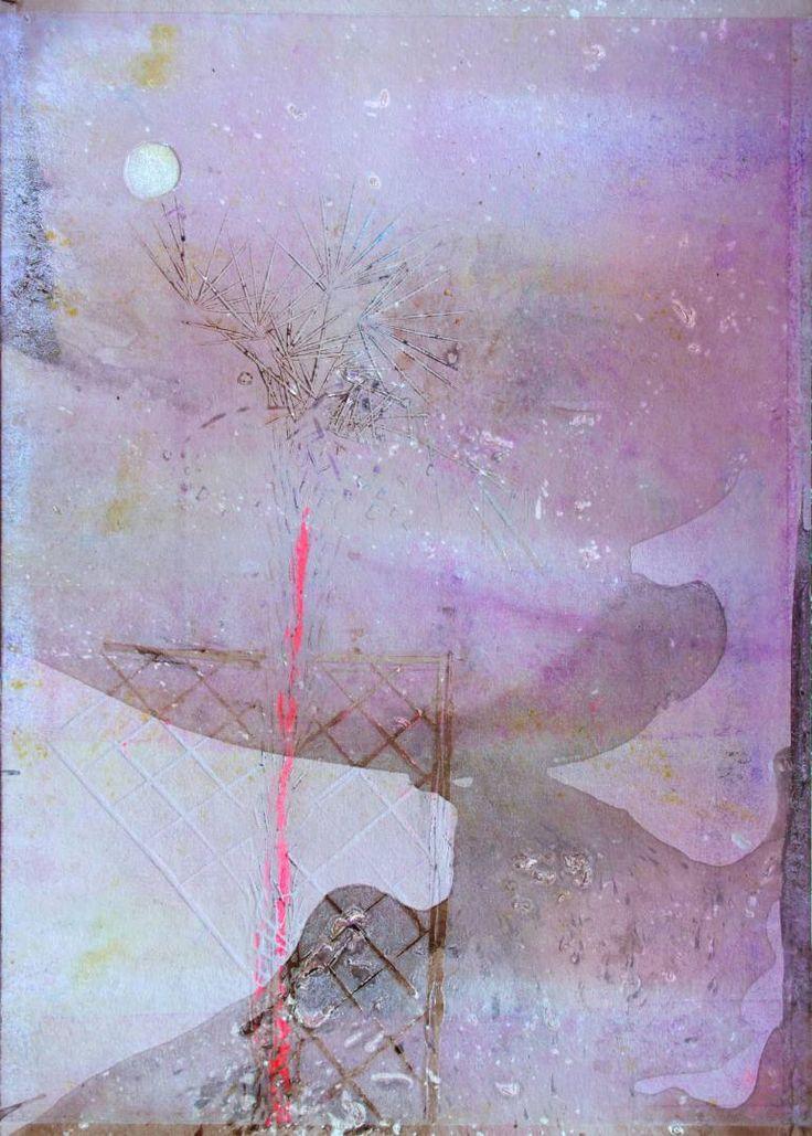 "Saatchi Art Artist ALINA FEDOTOVA; Painting, "" Coast3"" #art"