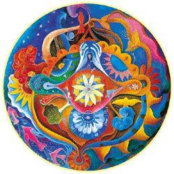 Mandala by Ago Paez Vilaro
