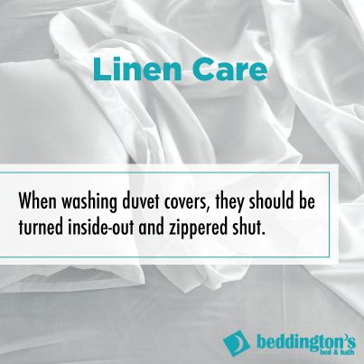 Linen Care #DIY #Linen #Bedrooms #Cleaning http://www.beddingtons.com