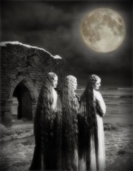the power of three, Maiden Mother Crone: Mother, Witchy, Moon, Wiccan Pagan, Art, Witches, Things, Hair, Halloween