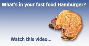 What's in your hamburger?  Watch this video