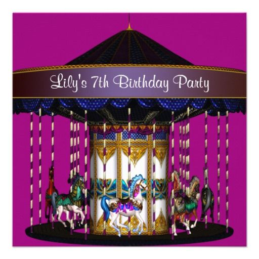 22 best 7th Birthday Party Invitations images – 7th Birthday Party Invitation