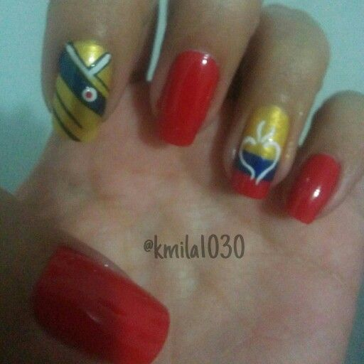 Colombia es pasión, tricolor