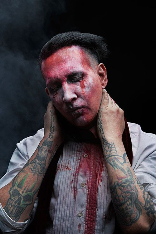 I just really like Marilyn Manson. His book and his music is really entertaining in a really morbid way.