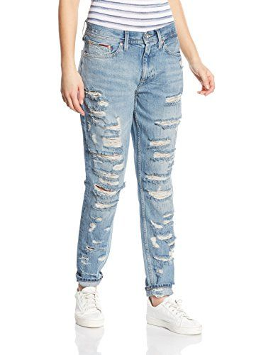 33c9841315fa0 Tommy Hilfiger Denim - Girlfriend 7 8 Claire 7 8 Cede - Jeans Femme ...