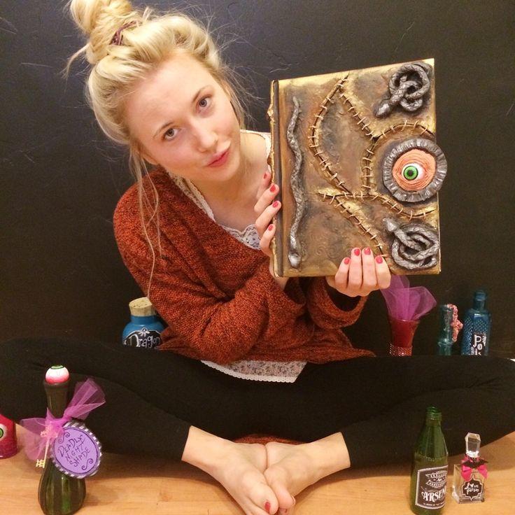 Hocus Pocus Book DIY Sanderson Sisters
