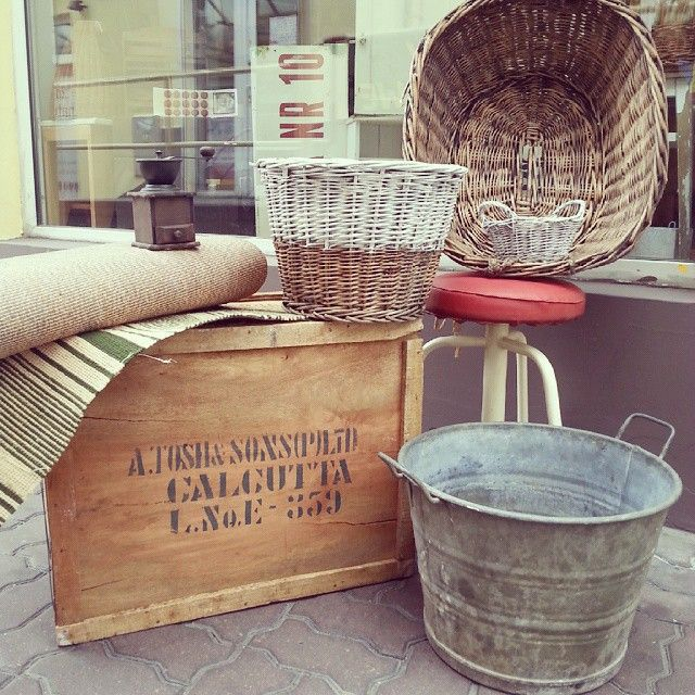 New, new, new #vintage #interiors #industrial #design #loft #retro #vintageshop #sklepvintage #poznan #midcenturymodern #midcentury #vintagestyle #brutfurniture #junkstyledesign #basket #kosz #korb #wiklina #wnętrza #box #skrzynia #chest #crate #taboret #instadesign