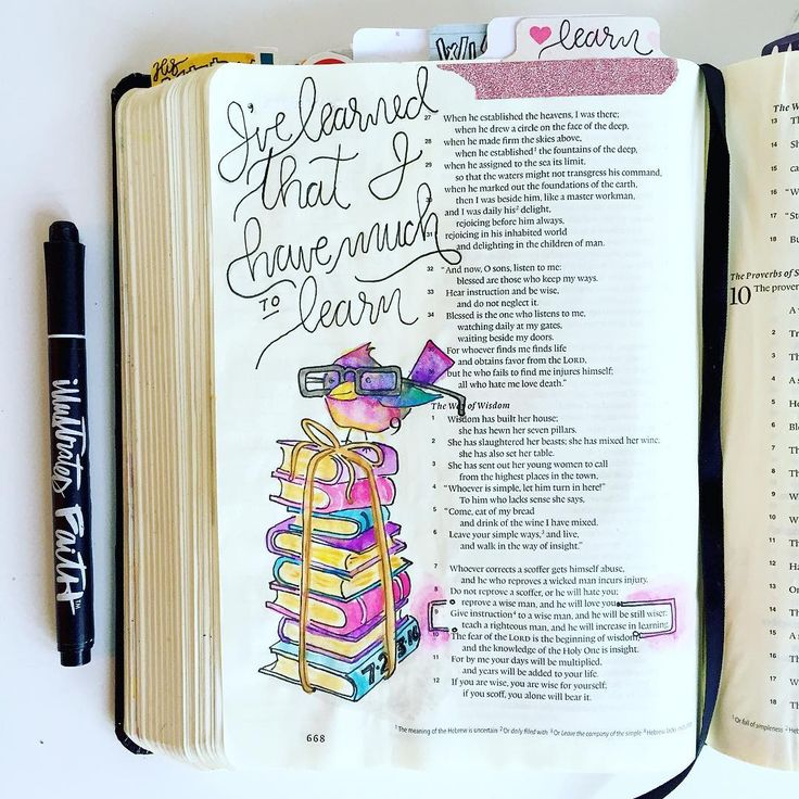 Bible Journaling by @images2inspire