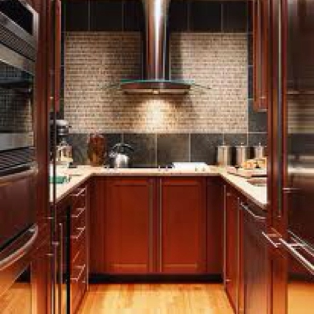Industrial Galley Kitchen: 17 Best Images About Kitchen On Pinterest