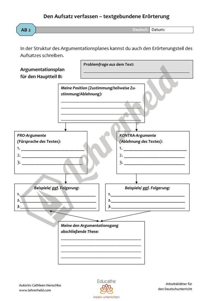 #textgebundene #Erörterung schreiben, bewerten & überarbeiten #Deutsch #Sekundarstufe I / II #Schule  (scheduled via http://www.tailwindapp.com?utm_source=pinterest&utm_medium=twpin&utm_content=post122584891&utm_campaign=scheduler_attribution)