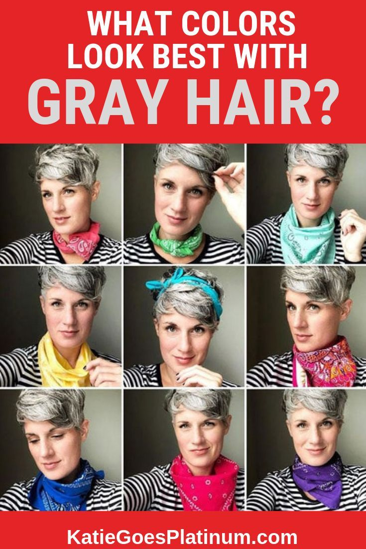 what colors look best with gray hair? | gray hair don't care | grey