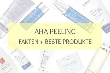 Glykolsäure (AHA): Alle Fakten + Beste Produkte