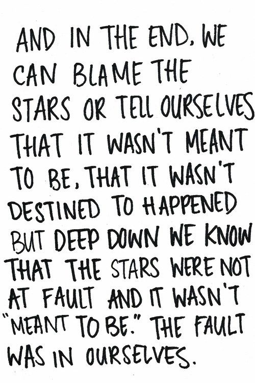 The Fault In Our Stars, seriously one of the best books I've ever read.