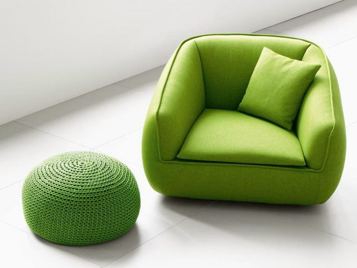 Energize & brighten up your living room with these 35 green designs.