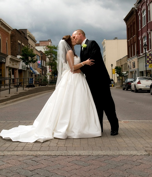 downtown wedding pic