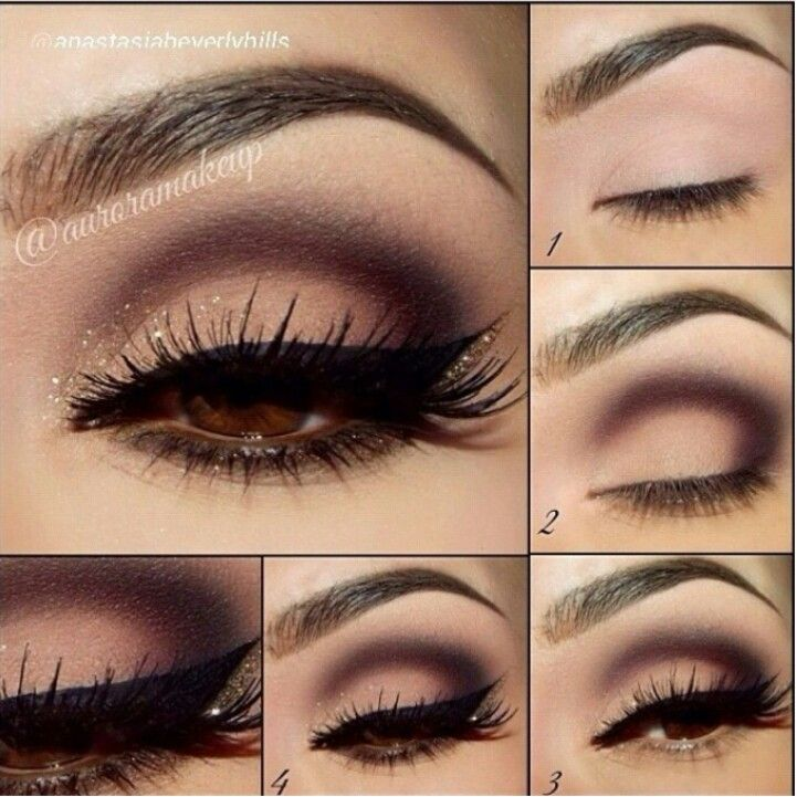 Gorgeous colors for brown eyes