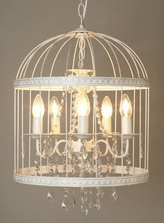birdcage chandelier diy - Google Search