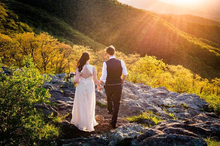 Andrew and Megan | Shenandoah National Park Wedding |  Steven & Lily Photography