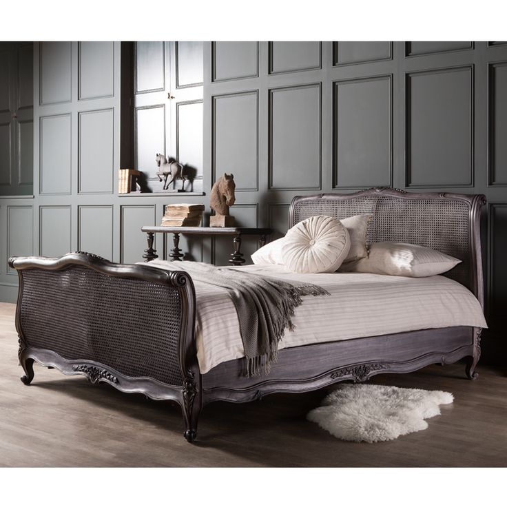 Charcoal French style bed with stunning legs oozing with style 28 best The Perfect French Boudoir images on Pinterest   French  . French Boudoir Bedroom Images. Home Design Ideas