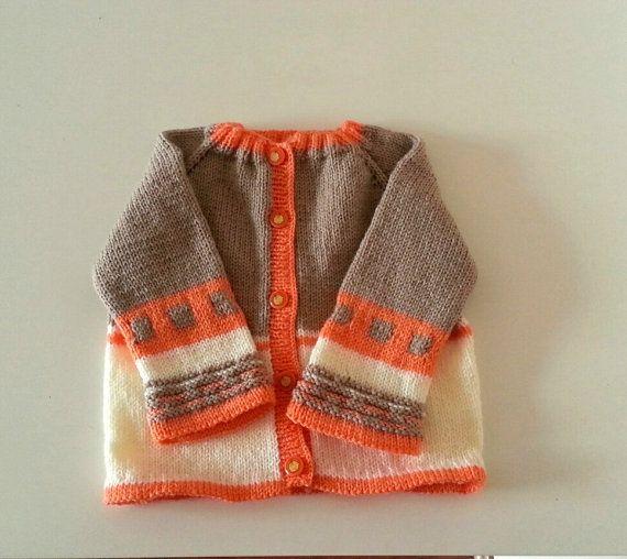Baby CardiganBaby Knit Cardigan  Winter Cardigan by SELINCE