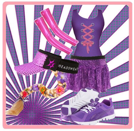 Rapunzel Princess Inspired Running Costume | Sparkle Athletic