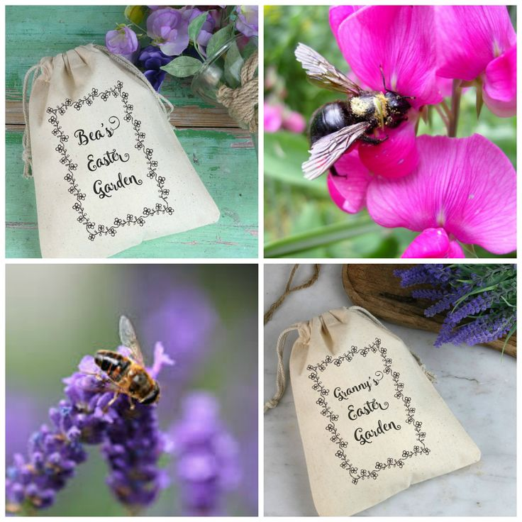 45 best easter holidays images on pinterest easter holidays floral gift bag with seeds easter gardenbee friendlygarden giftseaster negle Choice Image
