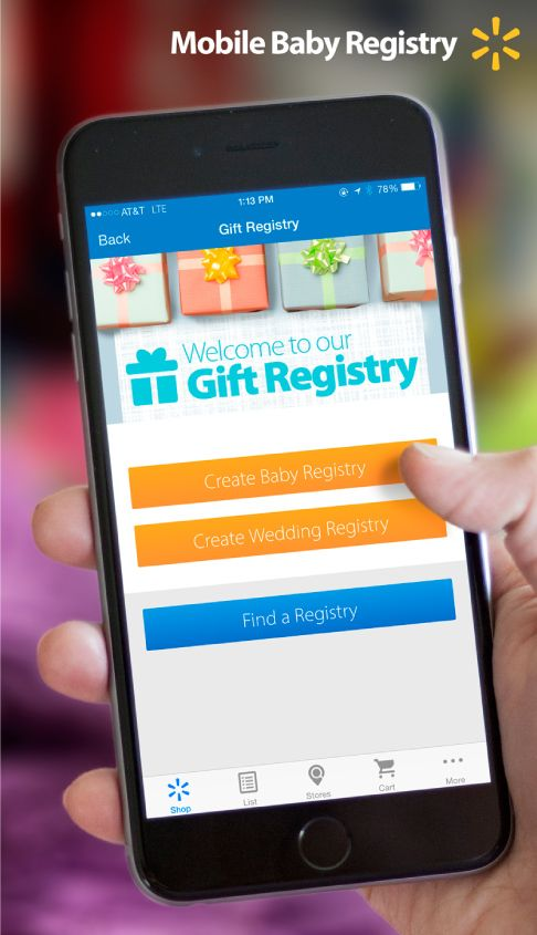 Get Ready For Baby! The New Baby Registry Feature In The Walmartapp Makes  It Easy