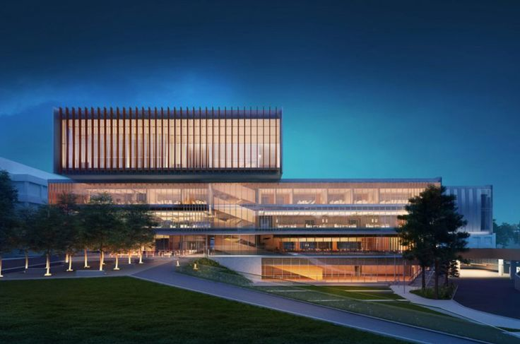 York University Student Center by Cannon Design Rendering by Cannon Design