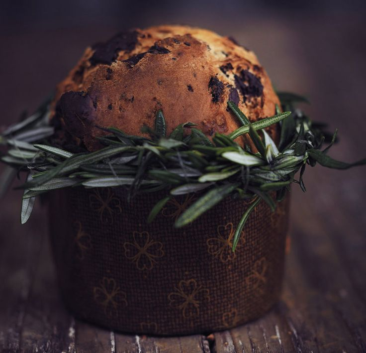 Easy Panettone - rooi rose