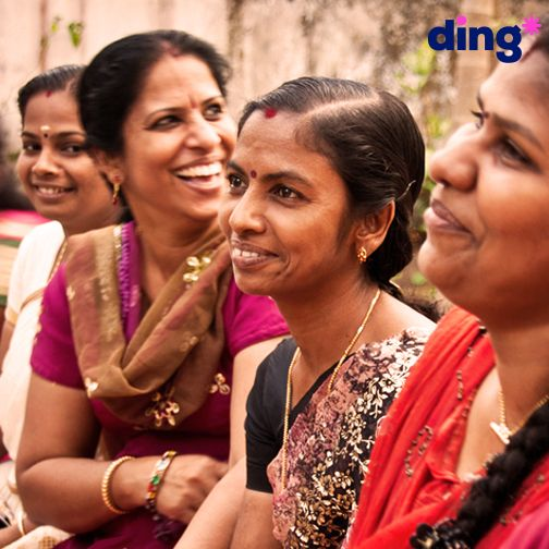 Ding is helping communities across the globe with our #TopUpForGood initiative!   #Topup #Recharge