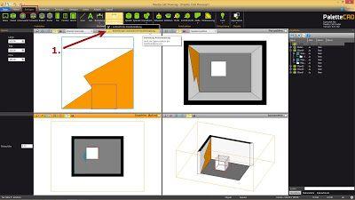 Palette CAD-Blog: Bemaßung Part 3: Automatische Raumbemaßung