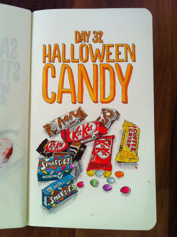 Day 32: Halloween Candy