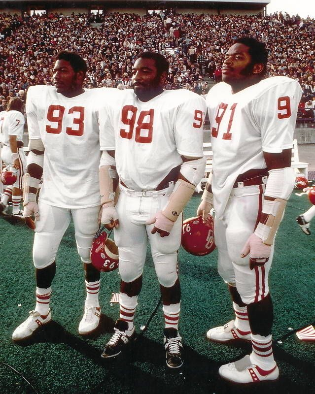 RARE Ou Oklahoma Sooners Selmon Brothers 8x10 Photo