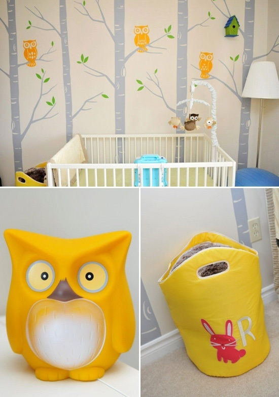 Owl nursery!