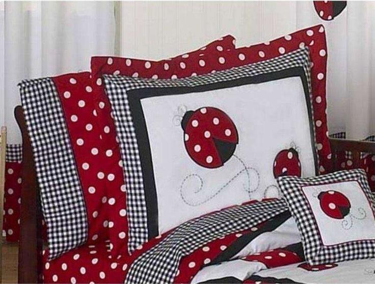 Little Ladybug Pillow Sham
