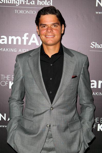 Milos Raonic in amfAR Cinema Against AIDS TIFF 2012 - 2012 Toronto International Film Festival