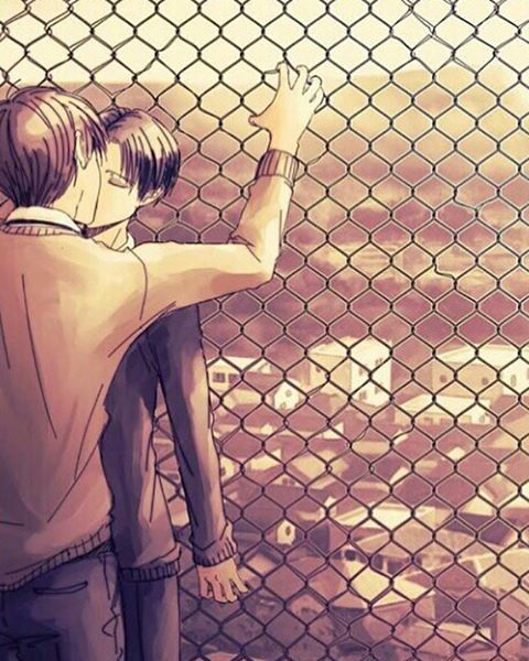 Eren x Levi yaoi... I SAY YUS!
