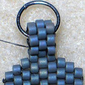 Peyote Stitch Finishing Touches | JewelryLessons.com