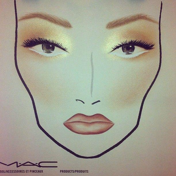 No make up make up look haul yoga rick baker for mac