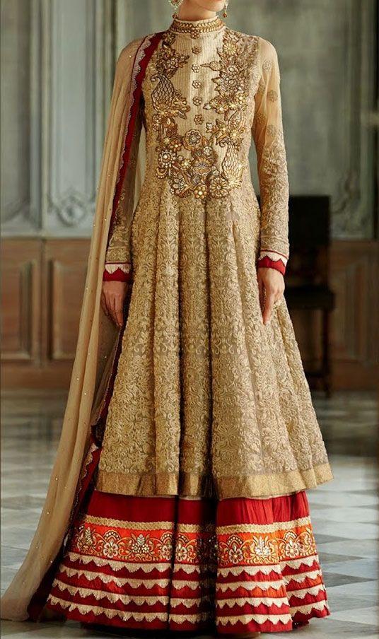 Western Floor Length Anarkali Frocks Design Indian Style Dress for Girls