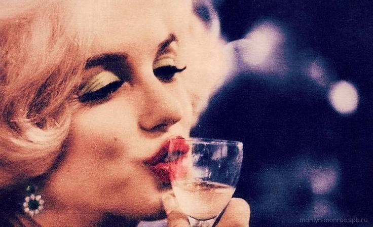 Marilyn Monroe Golden Globes Hollywood Ca. 1962