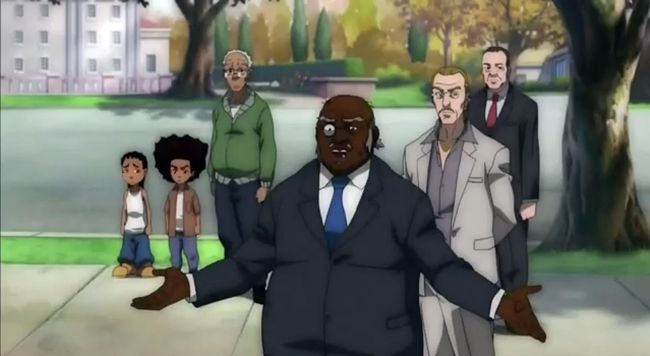Watch: The Boondocks Season 4 Trailer #Getmybuzzup- http://getmybuzzup.com/wp-content/uploads/2014/04/the-boondocks.png- http://getmybuzzup.com/watch-boondocks-season-4-trailer-getmybuzzup/- Check out the official trailer for season 4 of The Boondocks. Enjoy this video stream below after the jump. Follow me: Getmybuzzup on Twitter | Getmybuzzup on Facebook | Getmybuzzup on Google+ | Getmybuzzup on Tumblr | Getmybuzzup on Linkedin | Getmybuzzup on Pinterest Let us